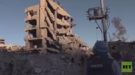 كاميرا RT ترصد الدمار في جيزرة التركية
