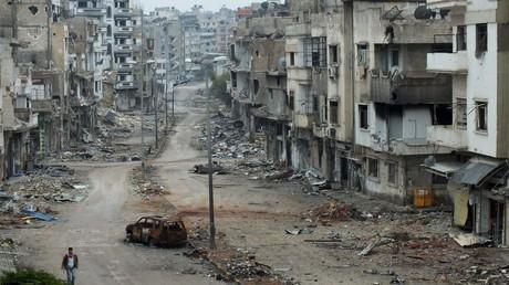 حي الخالدية، حمص. سوريا
