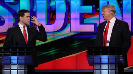 دونالد ترامب وماركو روبيو