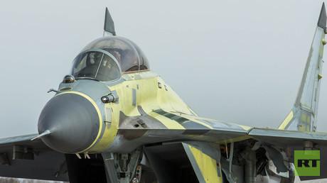 مقاتلة ميغ-29 K- ذات مقعدين وترابط على ناقلة طائرات