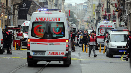 سيارات الإسعاف في اسطنبول