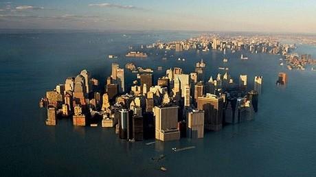 صورة مفترضة لنيويورك عندما تغمرها الياه