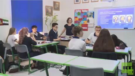 20 عاما على تأسيس المدرسة الروسية في دبي