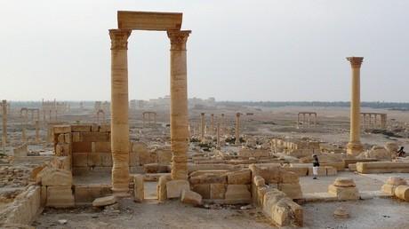 تدمر - سوريا -