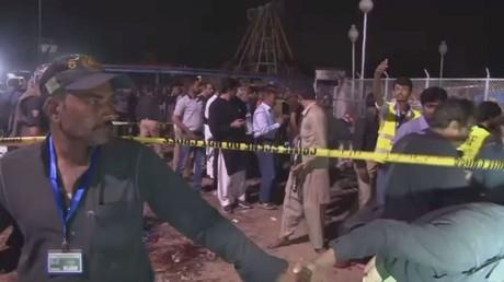عشرات القتلى والجرحى جراء تفجير انتحاري بمدينة لاهور شمال شرق باكستان