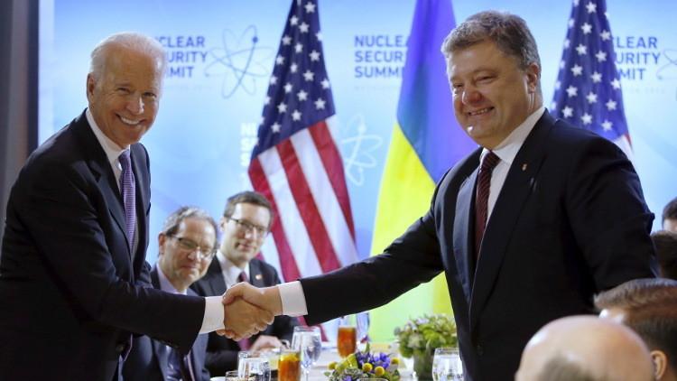 بوروشينكو في واشنطن سعيا لقروض جديدة