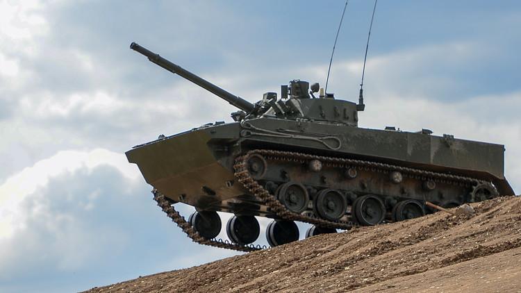 الجيش الروسي يحصل على عربة