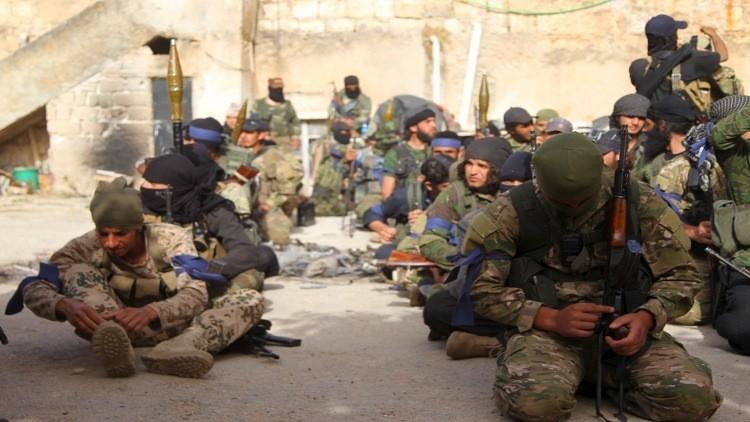 الجيش الأمريكي يدرب عشرات من مقاتلي المعارضة السورية