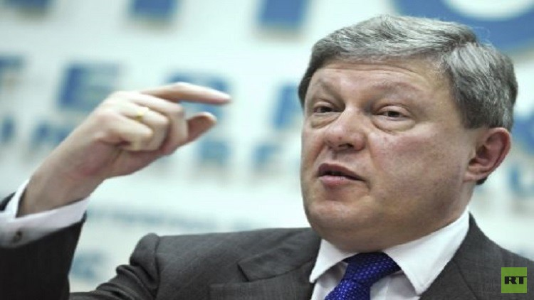 مؤسس حزب يابلوكو: سأفوز على بوتين في الانتخابات المقبلة