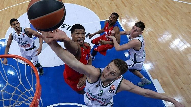 تسيسكا موسكو يبلغ ربع نهائي الدوري الأوروبي لكرة السلة