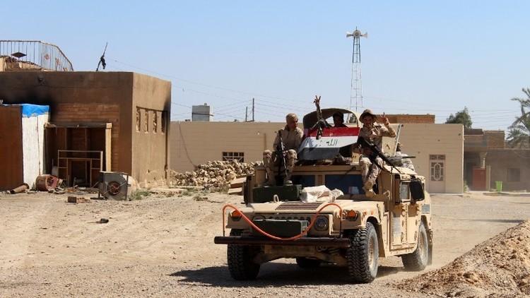 القوات العراقية تحرر منطقتين شرق قضاء هيت