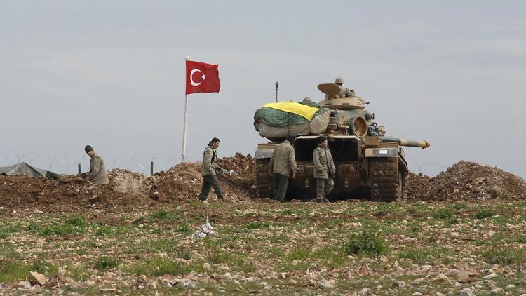 المدفعية التركية تقصف مدينة اعزاز شمال سوريا