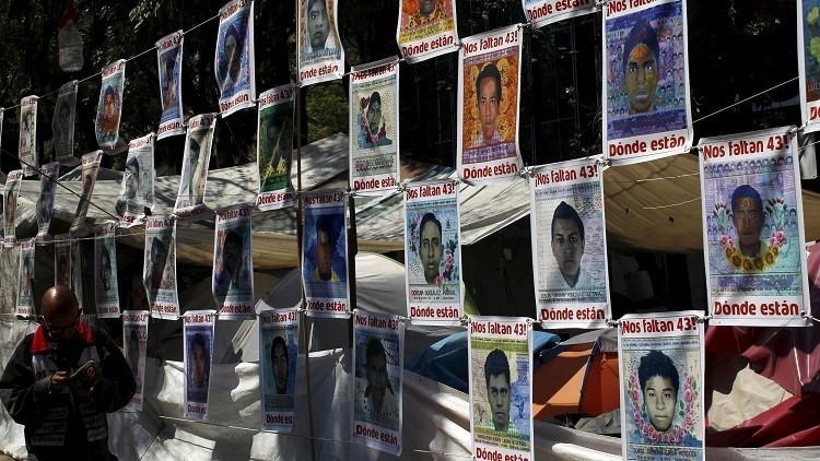 17 جثة أحرقت في مكب للنفايات ليلة اختفاء الطلاب في المكسيك بالعام 2014