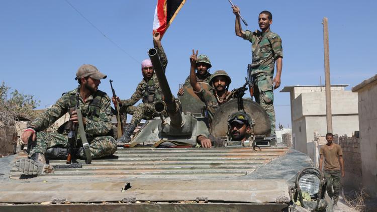 مراسلنا: الجيش السوري يتقدم في المحور الشمالي من بلدة القريتين جنوب شرق حمص