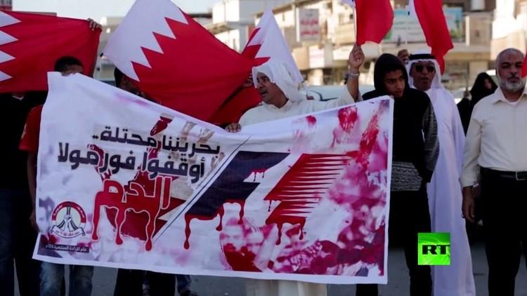 بالفيديو... مظاهرات في البحرين ضد إقامة سباق