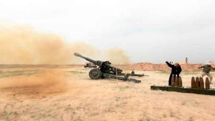 التحالف يدمر القنصلية التركية بالموصل