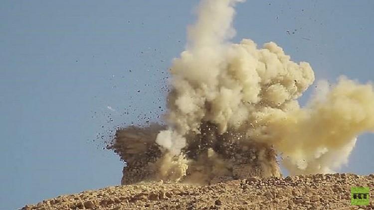 الأمم المتحدة مستعدة لمساعدة سوريا في تطهير تدمر من الألغام