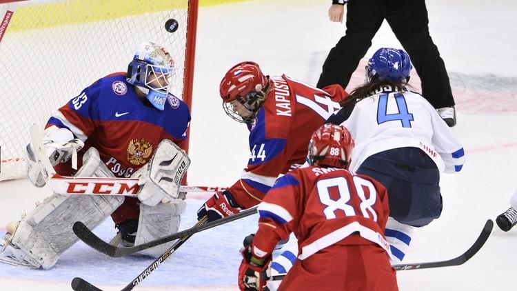 روسيا تكتفي ببرونزية مونديال هوكي الجليد للسيدات
