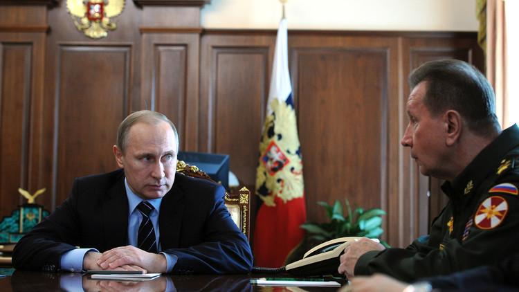 بوتين يعلن عن إنشاء قوات الحرس الوطني
