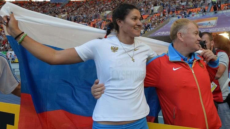 إيقاف بطلة روسية بعد إعادة فحص عينة مأخوذة منذ 11 عاما