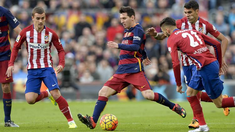 دوري الأبطال  .. التشكيلة الأساسية لبرشلونة وأتلتيكو في