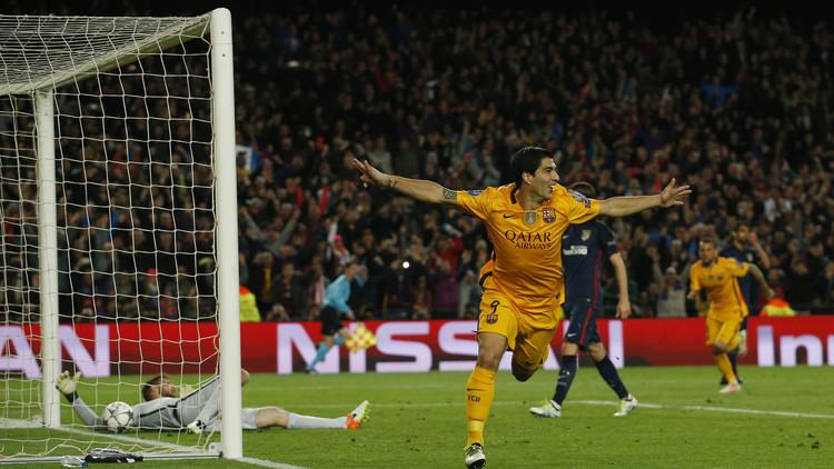 برشلونة يفوز بشق الأنفس على أتلتيكو في دوري الأبطال .. (فيديو)