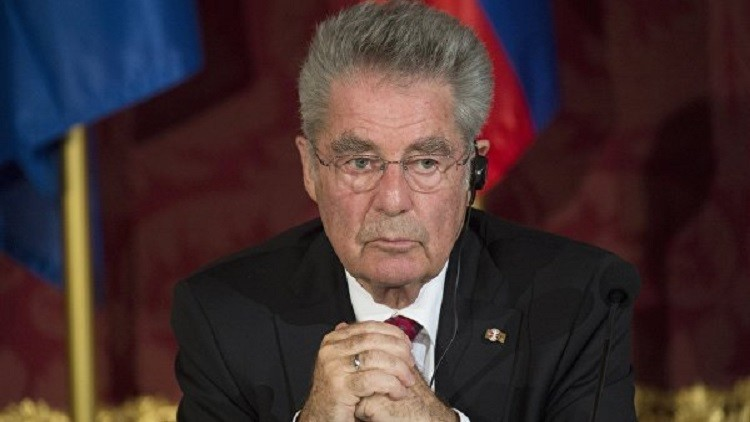 الرئيس النمساوي يؤكد ضرورة رفع العقوبات الأوروبية عن موسكو