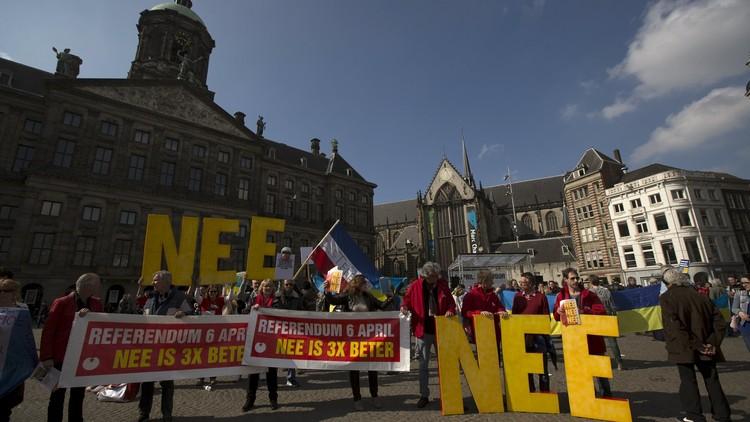 مصير اتفاقية انتساب أوكرانيا للاتحاد الأوروبي في يد الناخب الهولندي