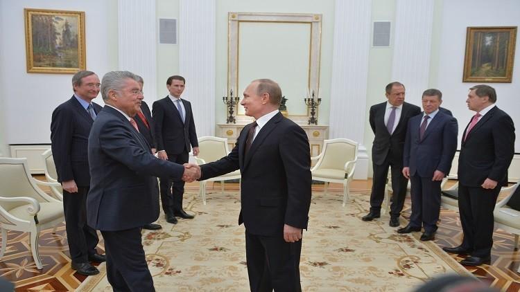 بوتين: روسيا والنمسا تعتزمان زيادة التعاون في مجال الطاقة