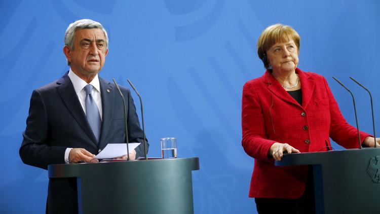 الرئيس الأرميني يدعو إلى الاعتراف بحق قره باغ في تقرير مصيرها