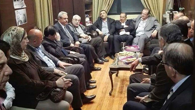قوى معارضة الداخل السوري تلتقي في دمشق
