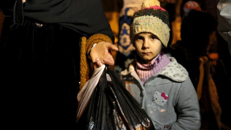 الأمم المتحدة: خطط لإجلاء آلاف المنكوبين من مناطق محاصرة في سوريا
