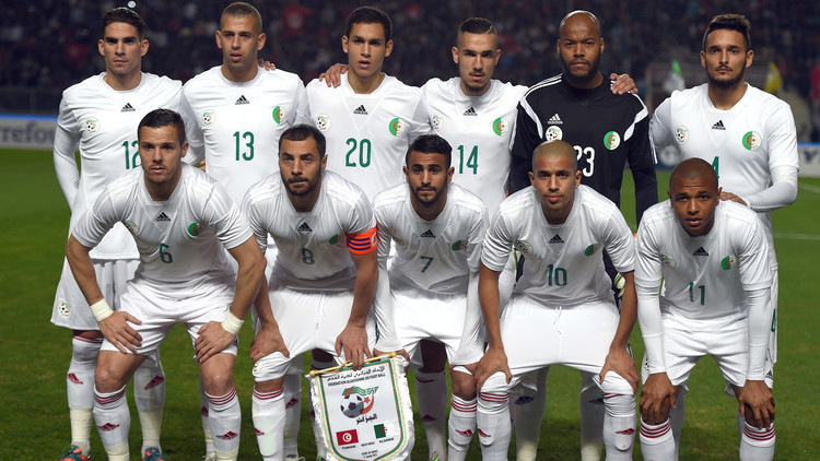 الجزائر الأولى عربيا والـ 33 عالميا في تصنيف الفيفا