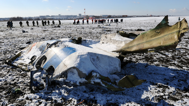 الكشف عن ملابسات حادث طائرة الركاب الإماراتية جنوب روسيا