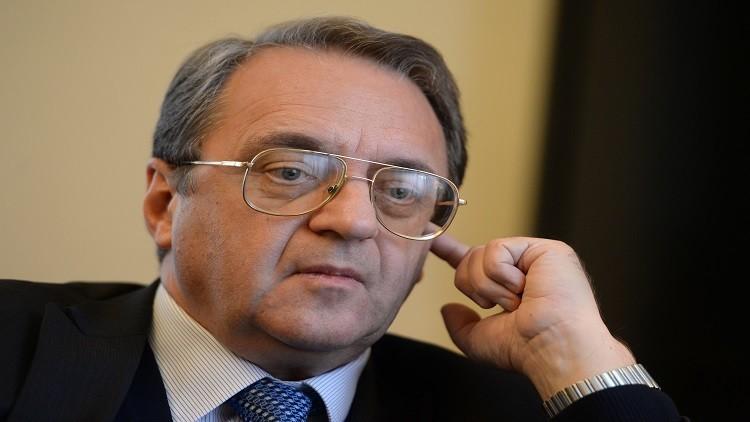 بوغدانوف والدايري يبحثان مكافحة الإرهاب في ليبيا