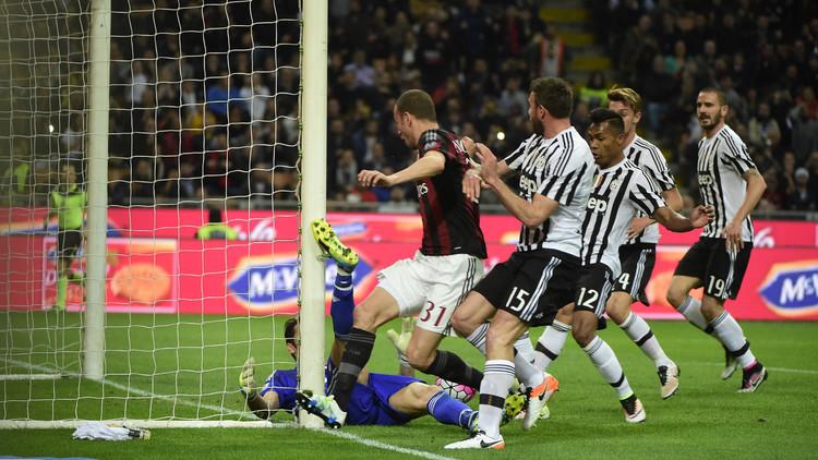 يوفنتوس يكسب الكلاسيكو الإيطالي ضد ميلان .. (فيديو)