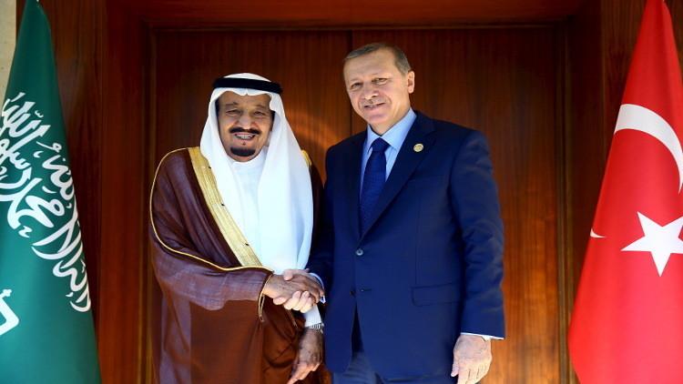 ملك السعودية يحط الرحال في أنقرة بعد القاهرة