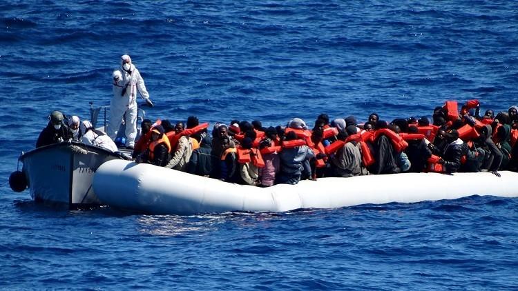 إنقاذ نحو 2000 مهاجر في مياه المتوسط خلال يوم الاثنين