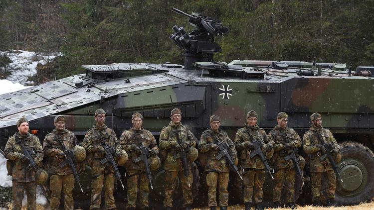 جنود ألمان التحقوا بـ