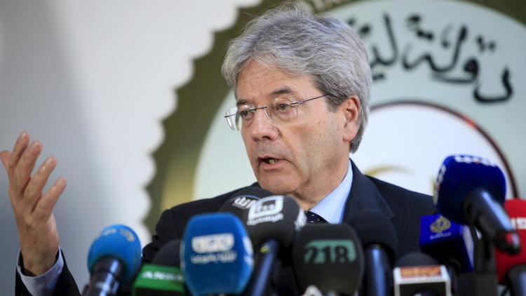 وزير الخارجية الإيطالي: هدفنا استقرار حكومة السراج أولا ومحاربة الإرهاب ثانيا