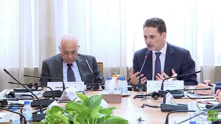 المفوض العام لوكالة أونروا مع نبيل العربي