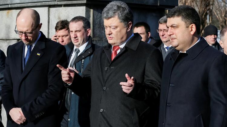 الرئيس الأوكراني يرشح أحد مقربيه خلفا لياتسينيوك!