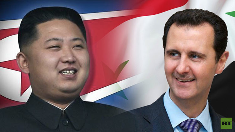 الأسد وكيم جونغ أون يتبادلان الرسائل