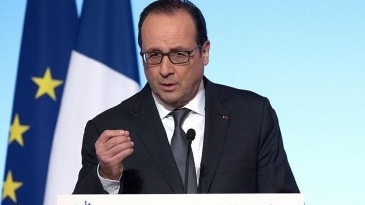 هولاند: المفاوضات مع الأسد ضرورية ولكن عليه في النهاية أن يرحل