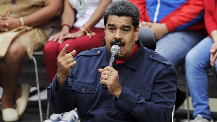 مادورو يتهم واشنطن بالسعي لإسقاط حكومته