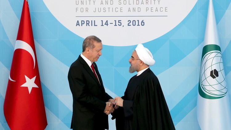 أردوغان: حل أزمات المنطقة بالتعاون مع طهران