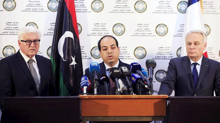 فرنسا وألمانيا تدعمان حكومة الوحدة الليبية