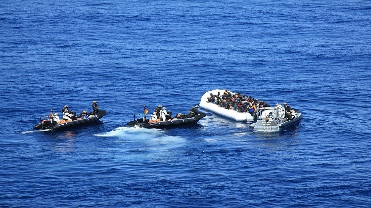 غرق أكثر من 400 مهاجر في البحر الأبيض المتوسط