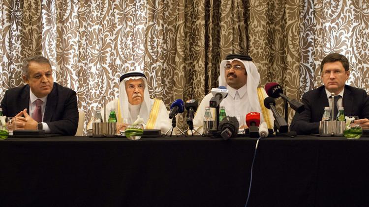 النفط إلى المنطقة الحمراء بعد فشل اجتماع الدوحة