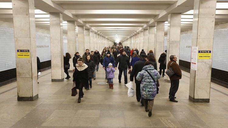نظام مراقبة جديد في مترو الأنفاق بموسكو